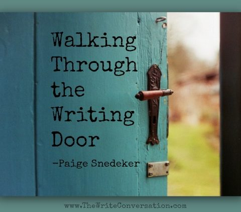 Walking Through the Writing Door