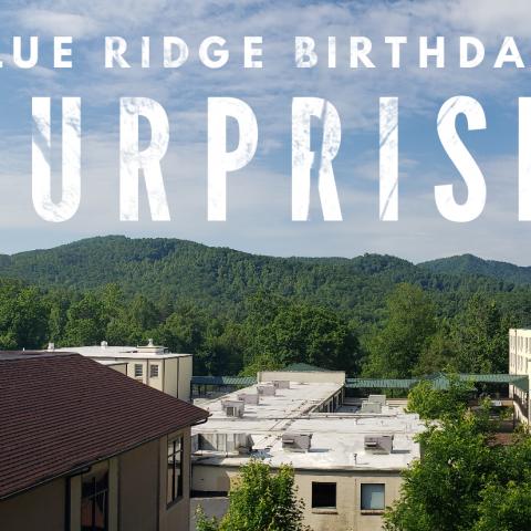 Blue Ridge Birthday Surprise